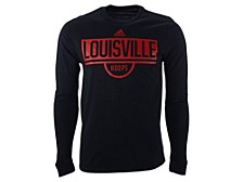 Louisville Cardinals Men's Team Stack Amplifier Long Sleeve T-Shirt