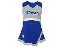 Girls Kentucky Wildcats Cheer Captain Dress