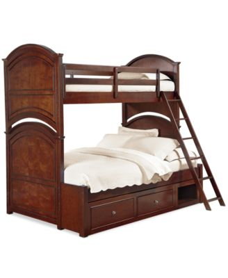 Irvine Kids Twin Over Full Bunk Bed