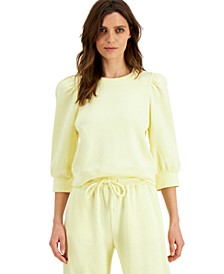 INC Volume-Sleeve Sweatshirt, Created for Macy's