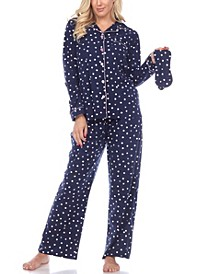 Women's Pajama Set, 3 Piece