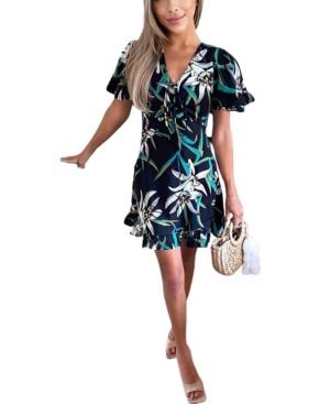 Women's Printed Tea Dress