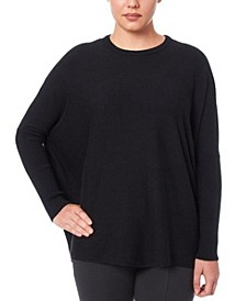 Women's Turtleneck Poncho Sweater