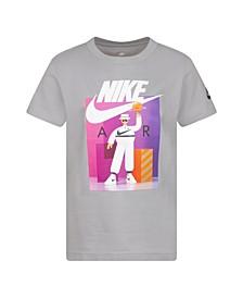 Toddler Boys Air Basketball Logo Graphic T-Shirt