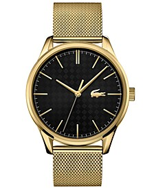 Men's Vienna Gold Plated Bracelet Watch 42mm