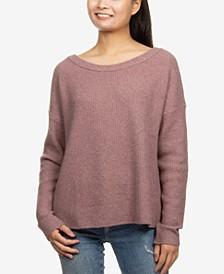 Juniors' Boxy Sweater
