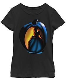 Big Girls Disney Princesses Cinderella Pumpkin Short Sleeve T-shirt