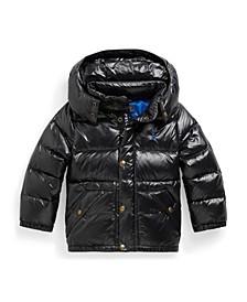 폴로 랄프로렌 남아용 자켓 Polo Ralph Lauren Little Boys Water-Repellent Down Jacket,Black