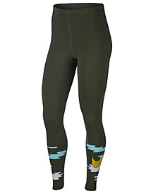 Plus Size Icon Clash Leggings
