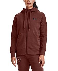 Women's Rival Fleece Zip-Front Hooded Sweatshirt