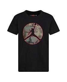 Little Boys Camo Jumpman Logo T-Shirt
