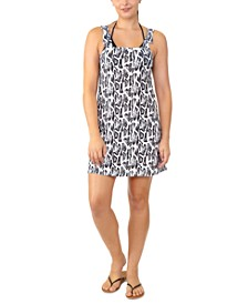 Juniors' Snake-Print Cover-Up, Created for Macy's
