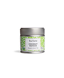 Coconut Matcha Loose Tea Canister