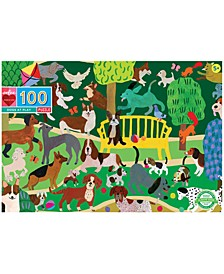 Dogs at Play 100-Pc. Puzzle