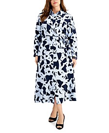 Plus Size Maxi Shirtdress, Created for Macy's