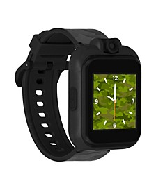 Kid's Playzoom 2 Gray Camouflage Print Tpu Strap Smart Watch 41mm