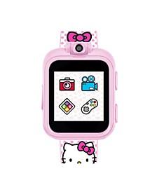Hello Kitty Kid's Playzoom 2 Blush Polka Dot Print Strap Smart Watch 41mm