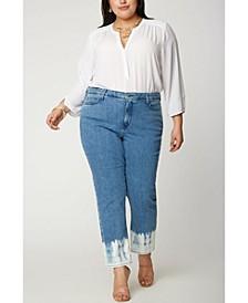 Plus Size Sheri Slim Ankle Jeans