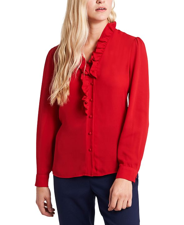 Riley & Rae Piper Ruffled Blouse, Created for Macy's