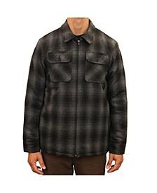 Men's Outdoorsman Wool Sherpa Lined Jacket