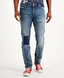 Men's Sashiko Jeans, Created for Macy's