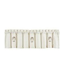 Water's Edge Window Straight Valance