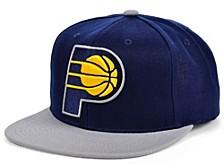 Indiana Pacers 2 Tone Classic Snapback Cap