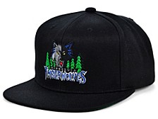 Minnesota Timberwolves HWC Basic Classic Snapback Cap
