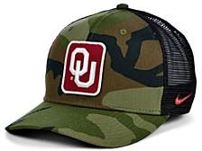 Oklahoma Sooners Camo Trucker Cap