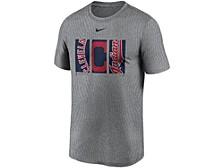 Men's Cleveland Indians Triptych Logo Legend T-Shirt