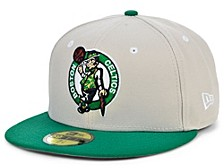 Boston Celtics Stone 2 Tone 59FIFTY Cap