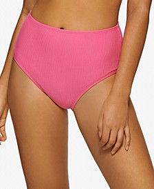 Juniors' Ribbed High-Waist Bottoms, Created for Macy's