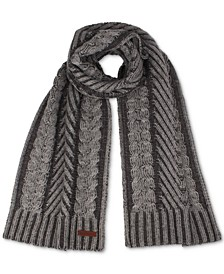Plaited Cable Scarf