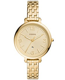 Women's Monroe Gold-Tone Bracelet Watch 38mm