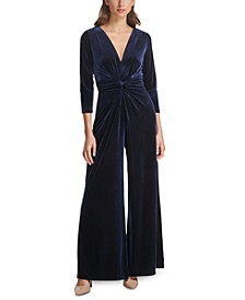 Velvet Twisted Jumpsuit