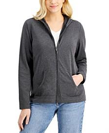Zip-Front Hoodie, Created for Macy's