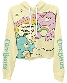 Trendy Plus Size Care Bears Cropped Hoodie
