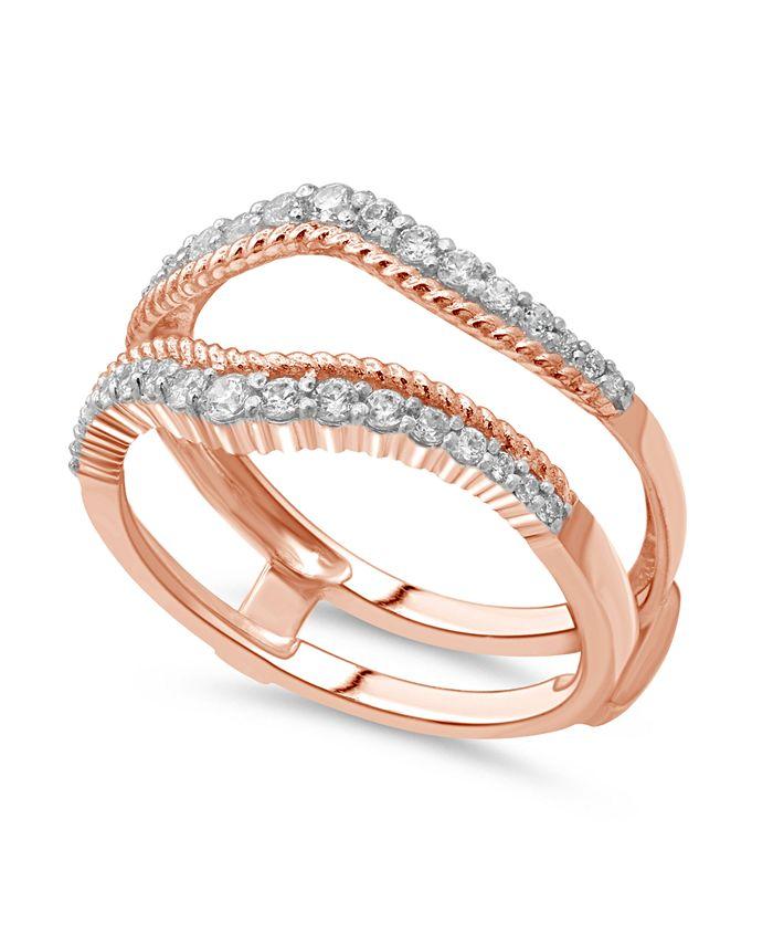 Macy's - Diamond Enhancer Ring Guard (3/8 ct. tw.) in 14K Gold