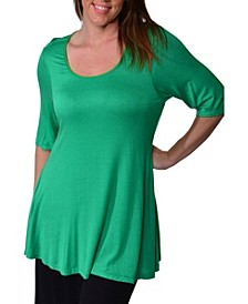 Women's Plus Size Tunic Top