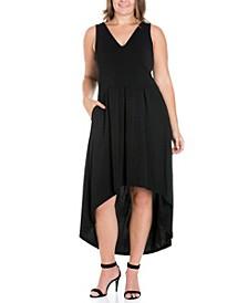 Women's Plus Size High Low Party Dress