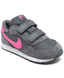 Toddler Girls MD Valiant Stay-Put Casual Sneakers from Finish Line