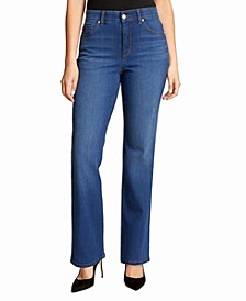 Women's Relaxed Straight Short Length Jeans