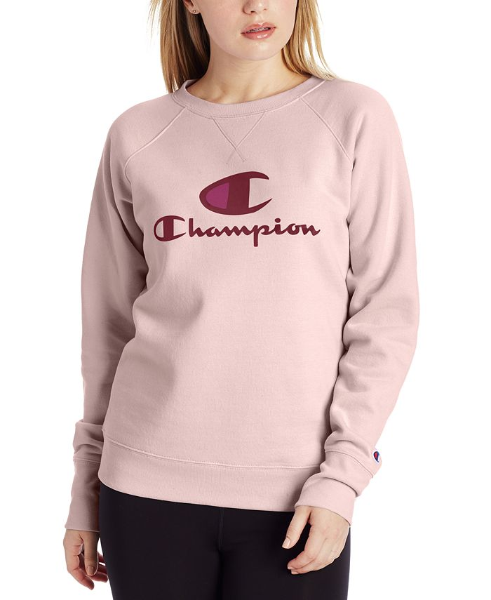 Champion - Powerblend Logo Graphic Sweatshirt