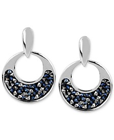 Faceted Bead Round Drop Earring
