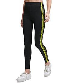 Calvin Klein Performance Logo-Side-Stripe Leggings