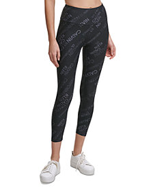 Calvin Klein Performance Remix Print Logo 7/8 Leggings