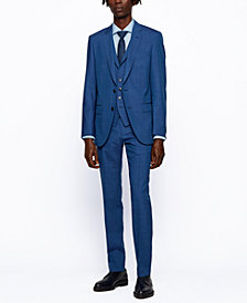 BOSS Men's Huge6/Genius Slim-Fit Vested Suit