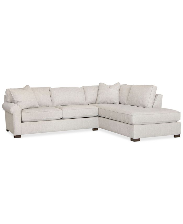 Furniture - Jemanie 2-Pc. Fabric Sectional