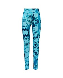 Little Girls Aop Tie-dye Print Legging