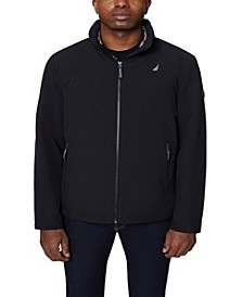 Men's Big and Tall Colorblock Stretch Bomber Jacket